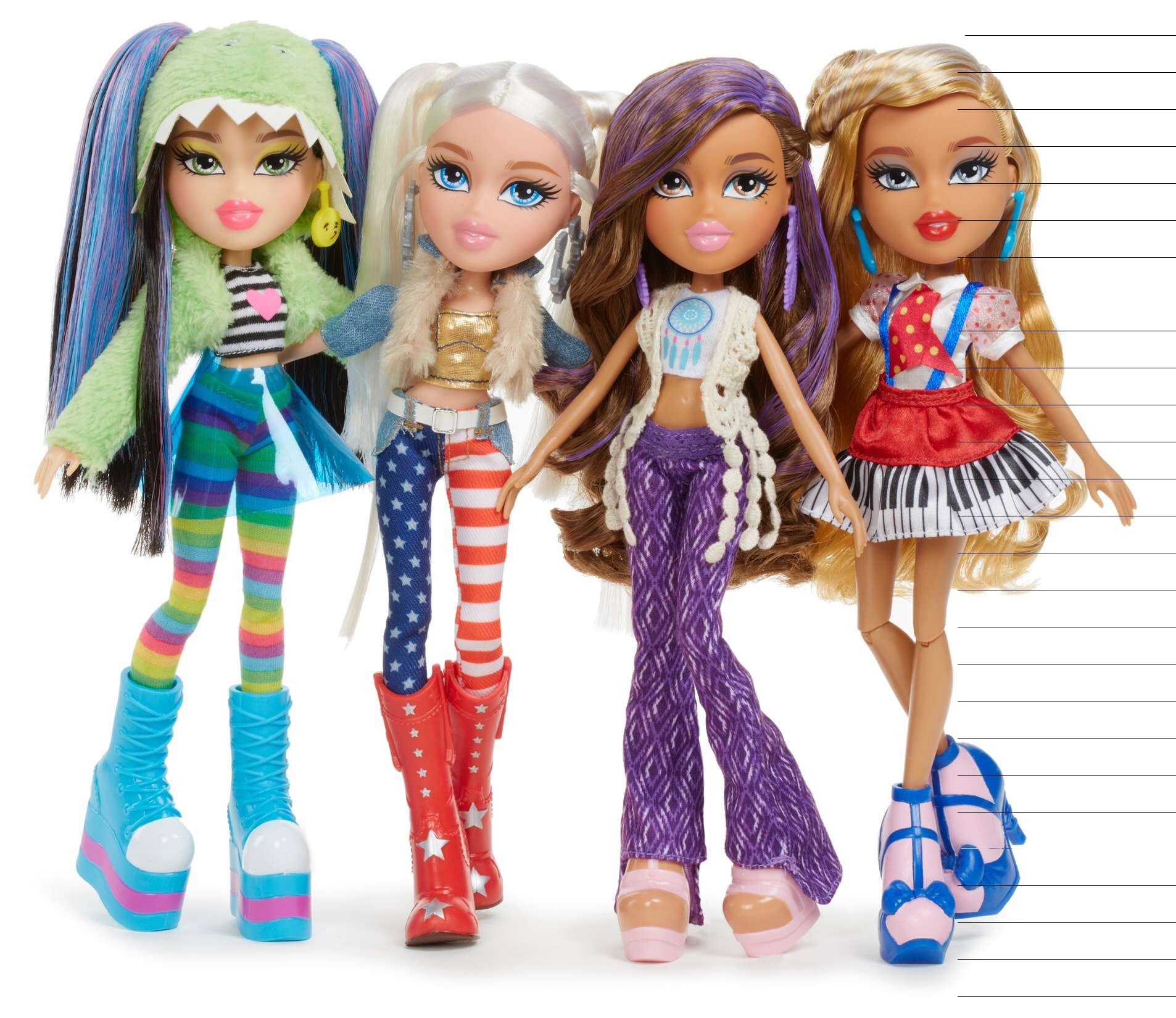 Uncategorized Bratz Girl bratz bizzimummy complete with super cool festival fashions and accessories along a second outfit the girls are ready to hit this summers must go festivals