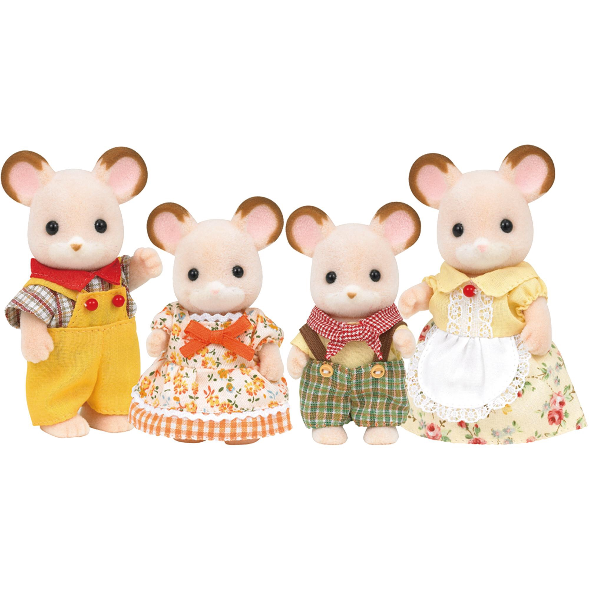 Sylvanian families and cow baby | Bizzimummy