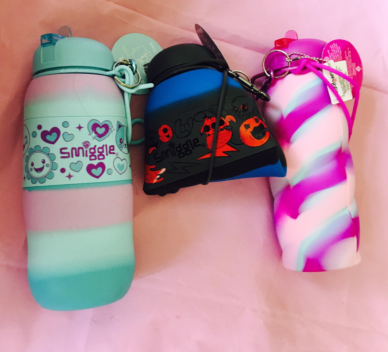 Smiggle Squishy Water Bottle : school Bizzimummy